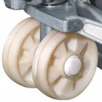bánh xe nâng tay thấp , bánh xe nilon , xe nâng tay , nâng tay thấp