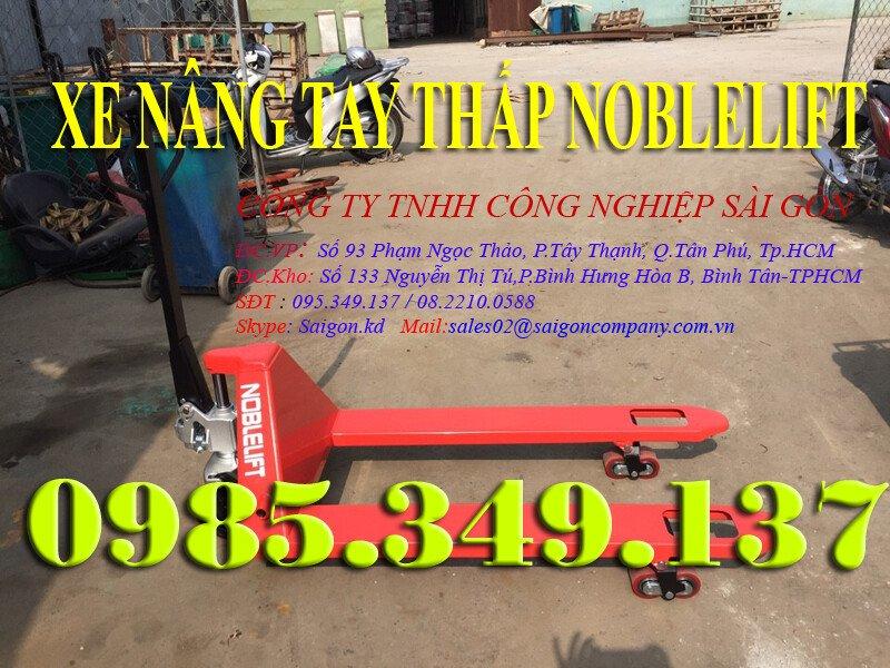 Xe nâng tay thấp 2500kg- 3000kg Noblelift