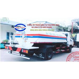 Xe 2 cầu phun nước rửa đường tưới cây 4 khối thaco FD500