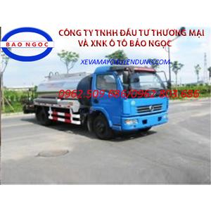 Xe bồn phun tưới nhựa đường 6 khối dongfeng nhập khẩu