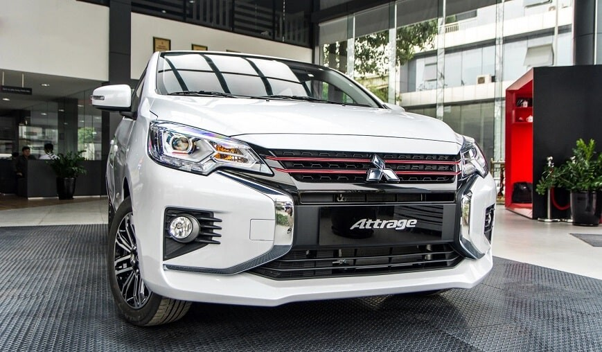 Xe Sedan 5 chỗ Mitsubishi Attrage CVT Premium giá cực tốt