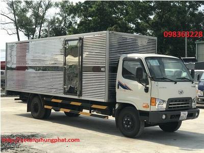 Xe Tải 8 Tấn Đô Thành HD120SL Thùng Kín
