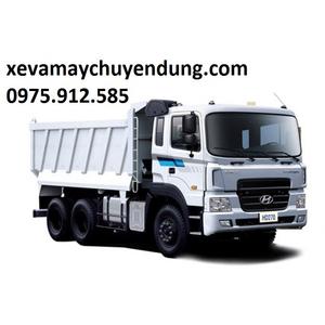 XE TẢI BEN HYUNDAI 3 CHÂN HD270