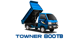 Xe tải ben Thaco Towner 800TB - 750kg