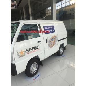 Xe tải Blind Van 490kg chạy giơ cấm