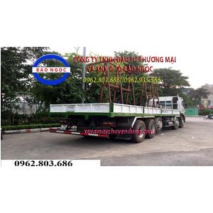 Xe tải chở kính 5 chân 21 tấn JAC cabin K5