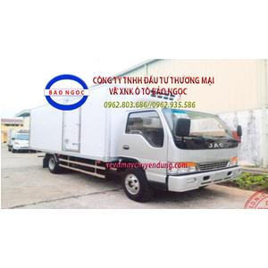 Xe tải đông lạnh 4 tấn JAC