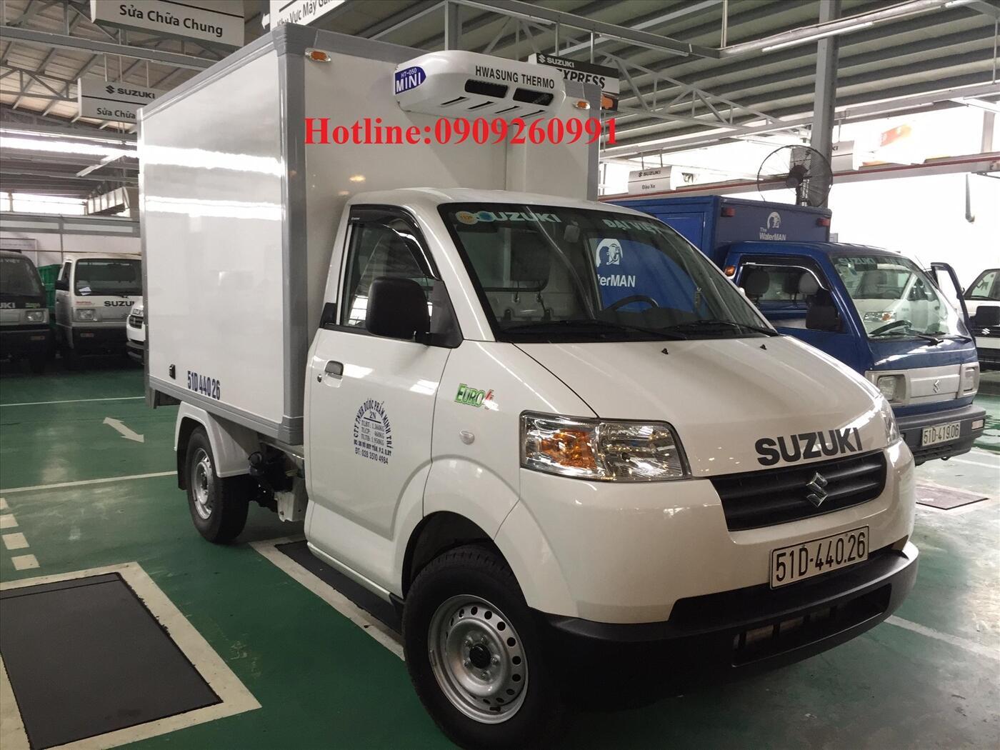 Suzuki Carry Pro 460kg thùng đông lạnh