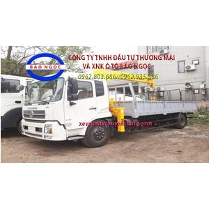 Xe tải dongfeng B170 gắn cẩu 6 tấn 4 đốt soosan scs524