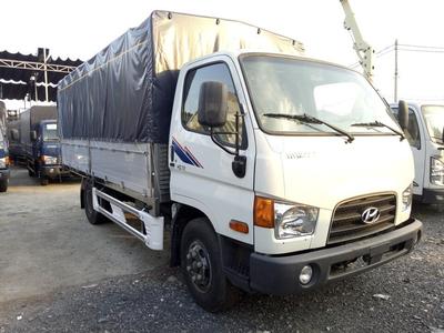 Xe Tải Hyundai HD88 - 5,5 Tấn Thùng Mui Bạt