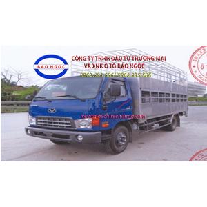 Xe tải hyundai HD99 thùng 2 tầng chở gia súc