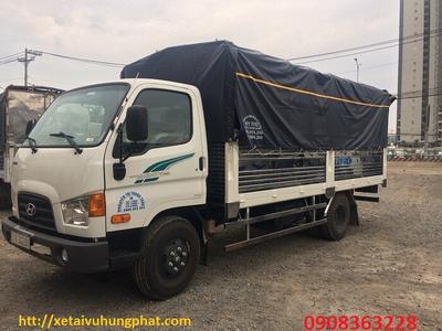 Xe tải HYUNDAI NEW MIGHTY 110S 7 Tấn Thùng mui bạt