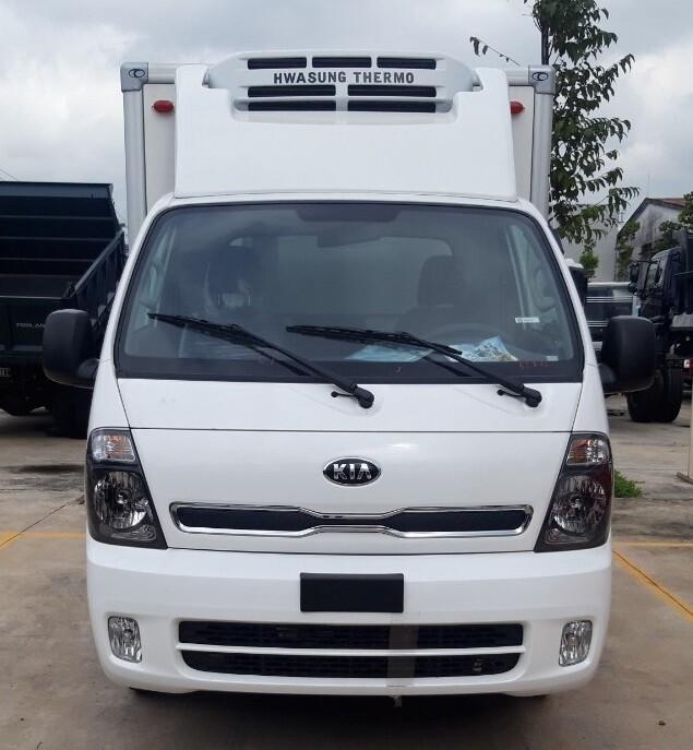 Xe tải KIA Frontier K200 - Thùng đông lạnh - Tải 990kg / 1490kg / 1990kg