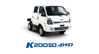 Xe tải KIA K200SD 4WD - 1,49 tấn