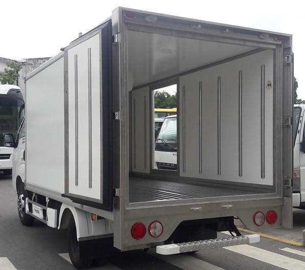 Xe tải KIA Frontier K250 - Thùng đông lạnh - Tải 1490kg / 2490kg