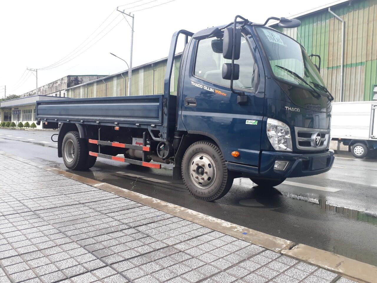 Xe tải Thaco Ollin 500 - Thùng lửng - Tải 4,99 tấn