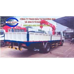 XE TẢI THACO OLLIN 700B GẮN CẨU UNIC URV375