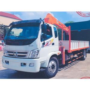 Xe tải thaco 950a gắn cẩu 5 tấn 3 đốt