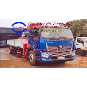 Xe tải thaco C160 E4 gắn cẩu unic 5 tấn