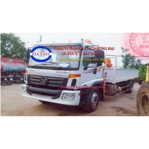 Xe tải thaco c160 gắn cẩu sangdo 5 tấn 4 đốt
