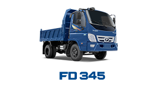 Xe tải Thaco Forland FD345 - 3,49 tấn