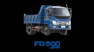 Xe tải Thaco Forland FD500 4WD - 4,99 tấn