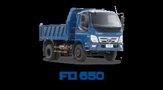 Xe tải Thaco Forland FD650 - 6,5 tấn