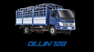 Xe tải Thaco Ollin 120 - 7,5 tấn