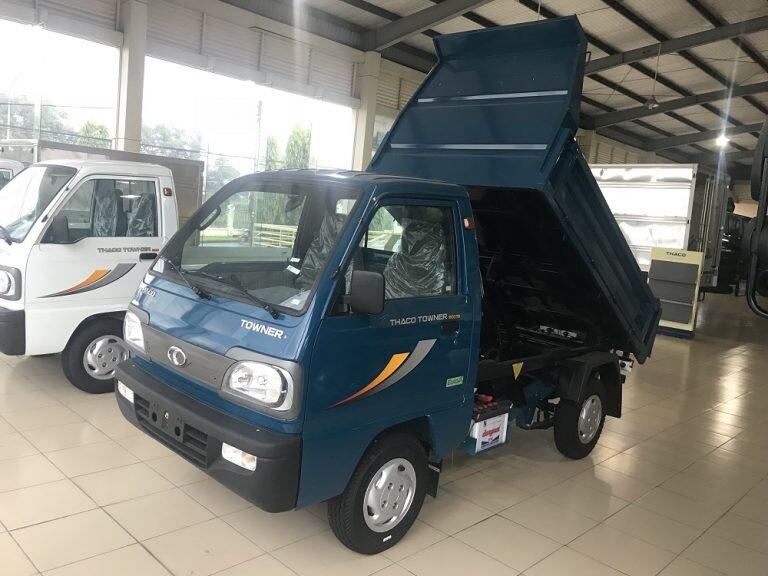 Xe tải Thaco Towner 800TB - Thùng ben - Tải 750kg
