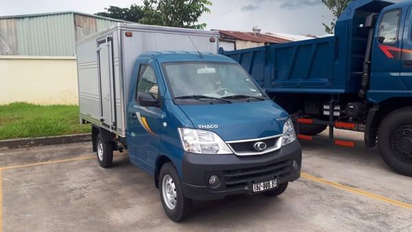 Xe tải Thaco Towner 990 - Thùng kín - Tải 900kg