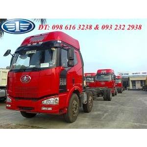 Xe tải thùng 2 dí 1 cầu FAW công suất 240 PS