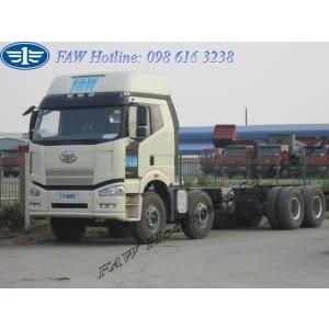 Xe tải thùng 4 chân FAW J6 công suất 350 PS giá tốt nhất rẻ nhất