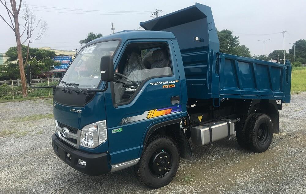 Xe tải Thaco Forland FD250E4 - Thùng ben - Tải 2,49 tấn