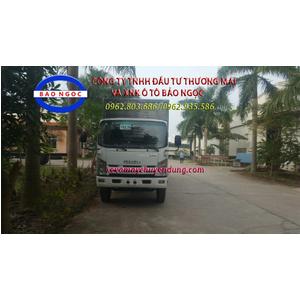 Xe tải isuzu Vĩnh Phát 8 tấn thùng kín inox