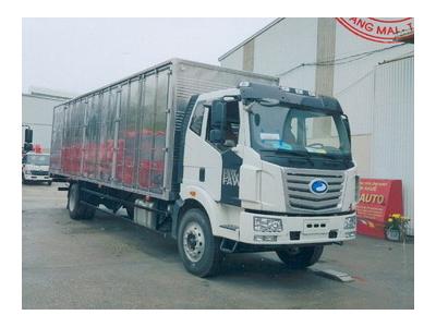 Xe tải thùng kín mở 6 cánh thùng dài 9,7 mét GIAIPHONG FAW Euro 4