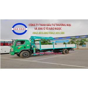 Xe tải TMT 8 tấn gắn cẩu 5 tấn HKTC