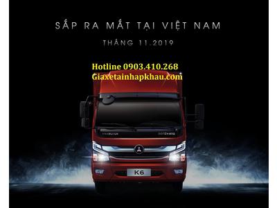 Xe tải Vinamotor Đồng Vàng K6 Euro 4, 2019, giá tốt, tải trọng cao - VINAMOTOR K6