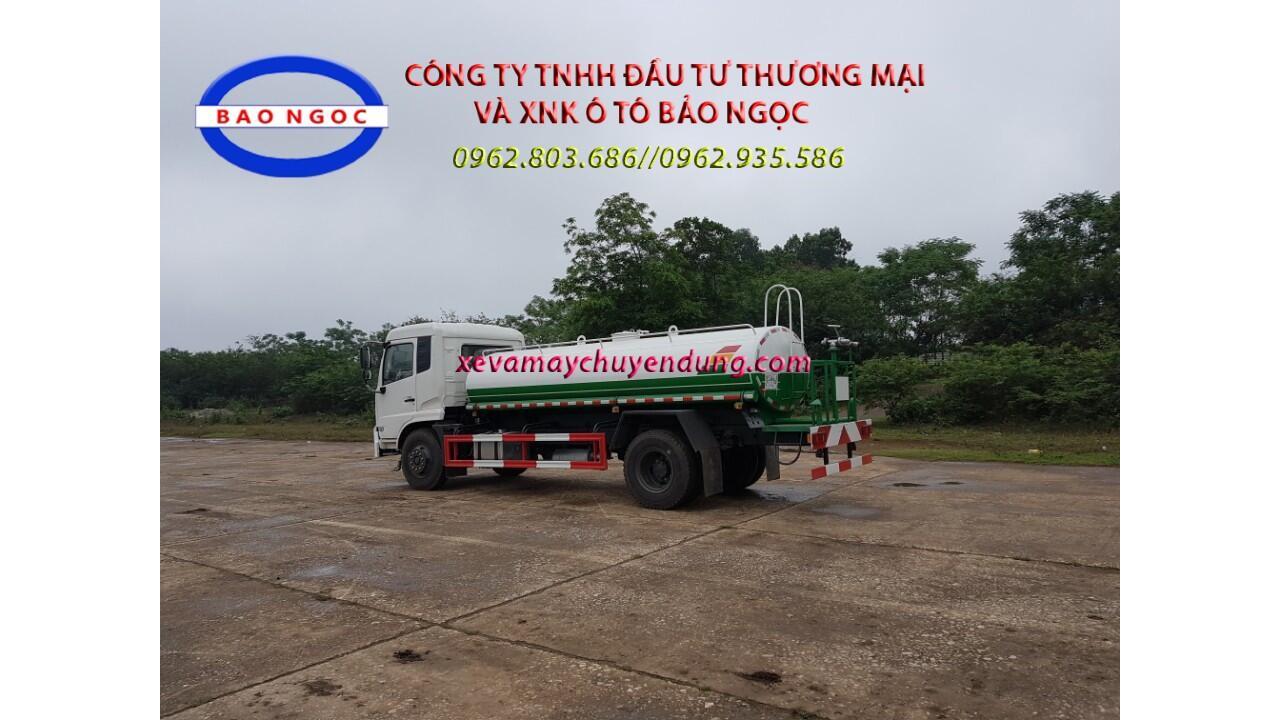 Xe téc nước dongfeng nhập khẩu 9m3