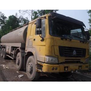 Xe téc bồn chở xăng dầu 4 chân Howo 35.000 lit cũ đã qua sử dụng