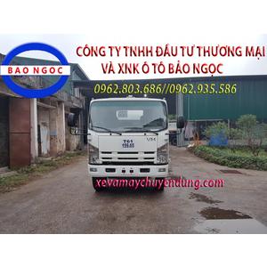 Xe téc chở xăng dầu 11 khối isuzu Vĩnh Phát