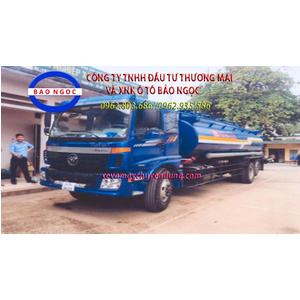 Xe téc chở xăng dầu 18 khối thaco auman C1500