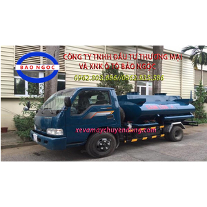 Xe téc chở xăng dầu 3 khối cấp lẻ Thaco K165