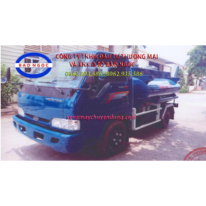 Xe téc chở xăng dầu 3 khối thaco k165