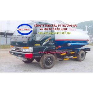 Xe téc chở xăng dầu 5 khối 2 cầu Chiến Thắng