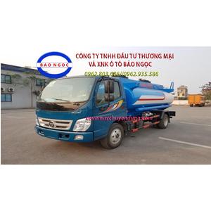 Xe téc chở xăng dầu 6 khối thaco ollin 500B
