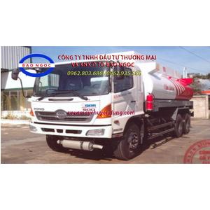 Xe téc chở xăng dầu 19 khối HINO FM