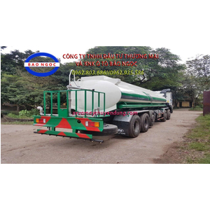 Xe téc phun nước tưới cây rửa đường 20m3 hyundai hd360