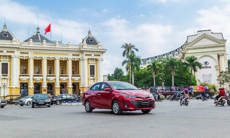 xe Toyota vios 2020 màu đỏ bản 1.5g