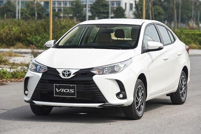 Toyota Vios bản E số tự động