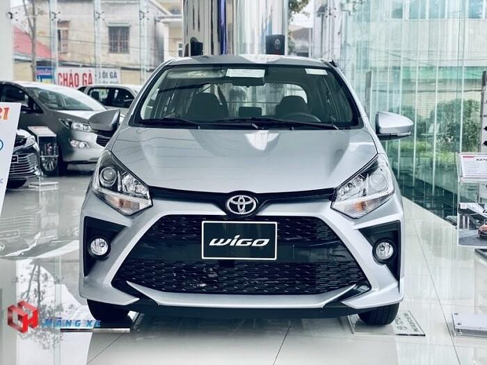 ngoại thất xe Toyota wigo 2021 màu bạc